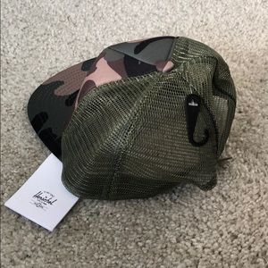 11672b73667 Herschel Supply Company Accessories - Hershel Woodland camo whaler mesh hat